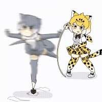 Small-Clawed-Otter-(Kemono-Friends)-Kemono-Friends-Anime-an[...].gif
