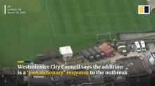 Temporary morgues set up in London as 'precautionary' respo[...].webm