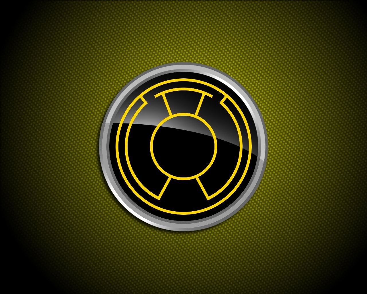 yellow lantern logo - HD 1280×1024