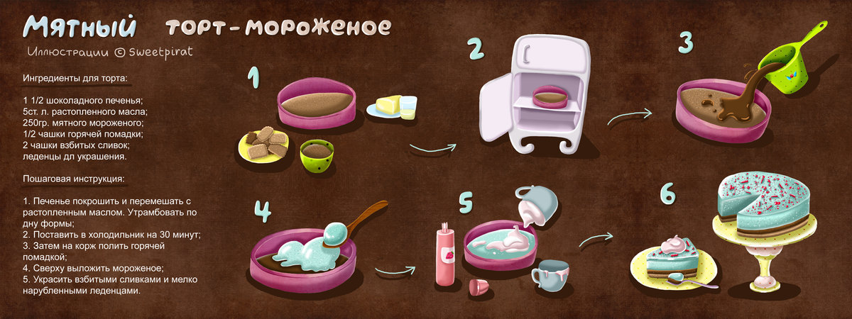 Приготовить сладость в домашних условиях