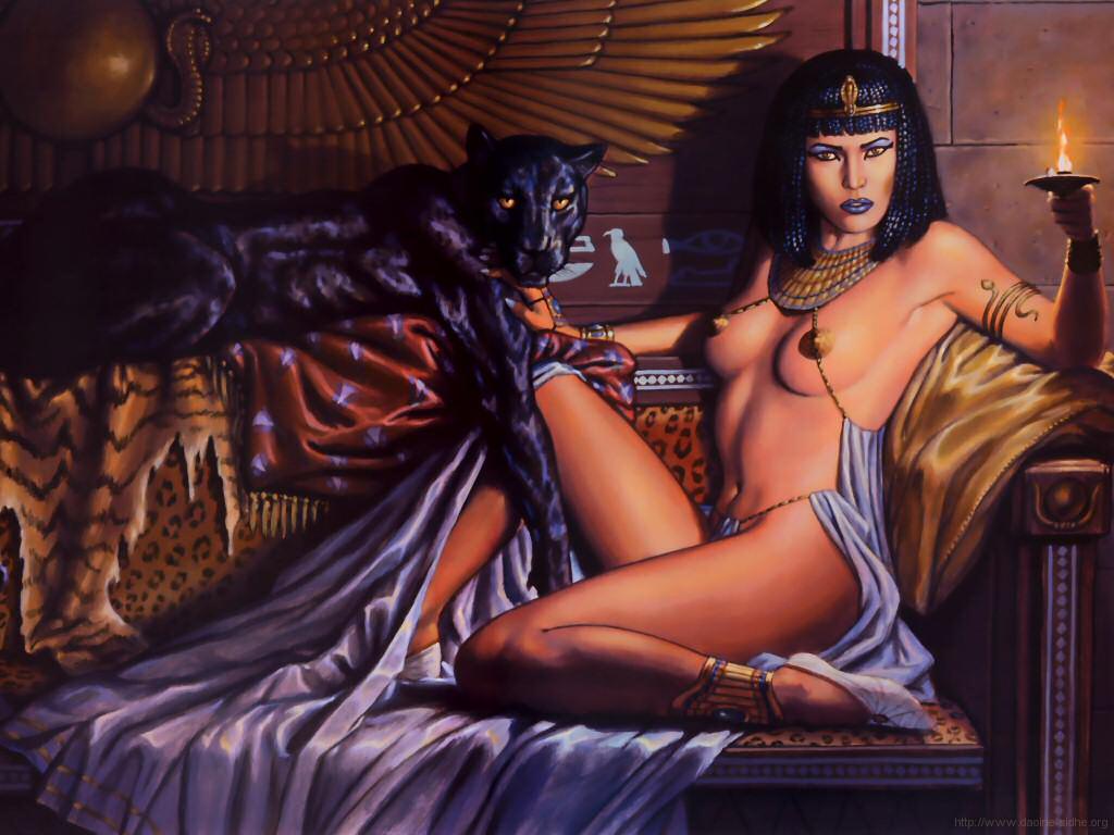 Порно египетских цариц