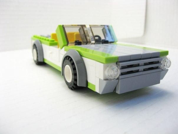 Автомобили лего как сделать