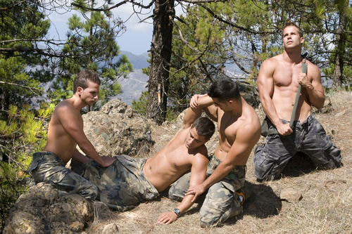 фото секса геев в армии