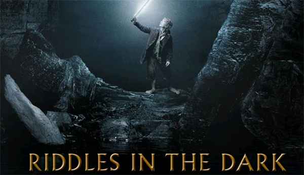 the hobbit riddels in the