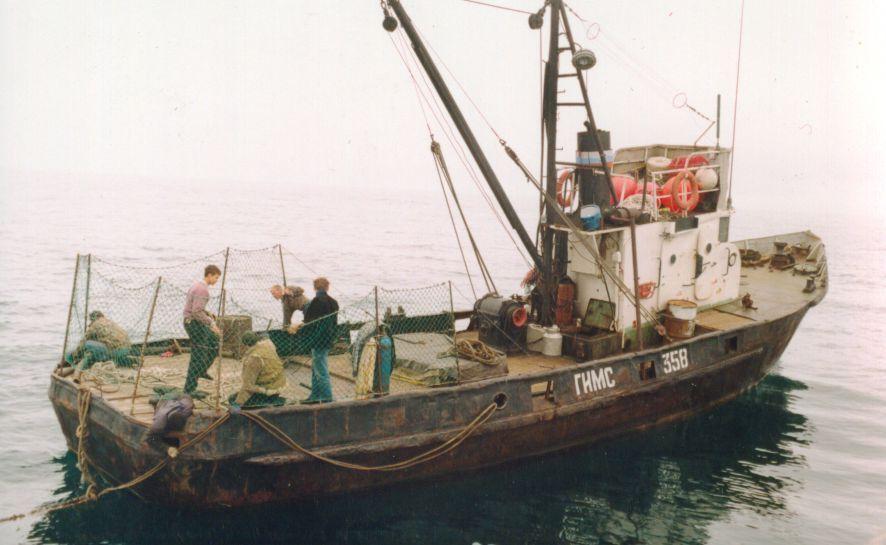 рыболовный сейнер мрс