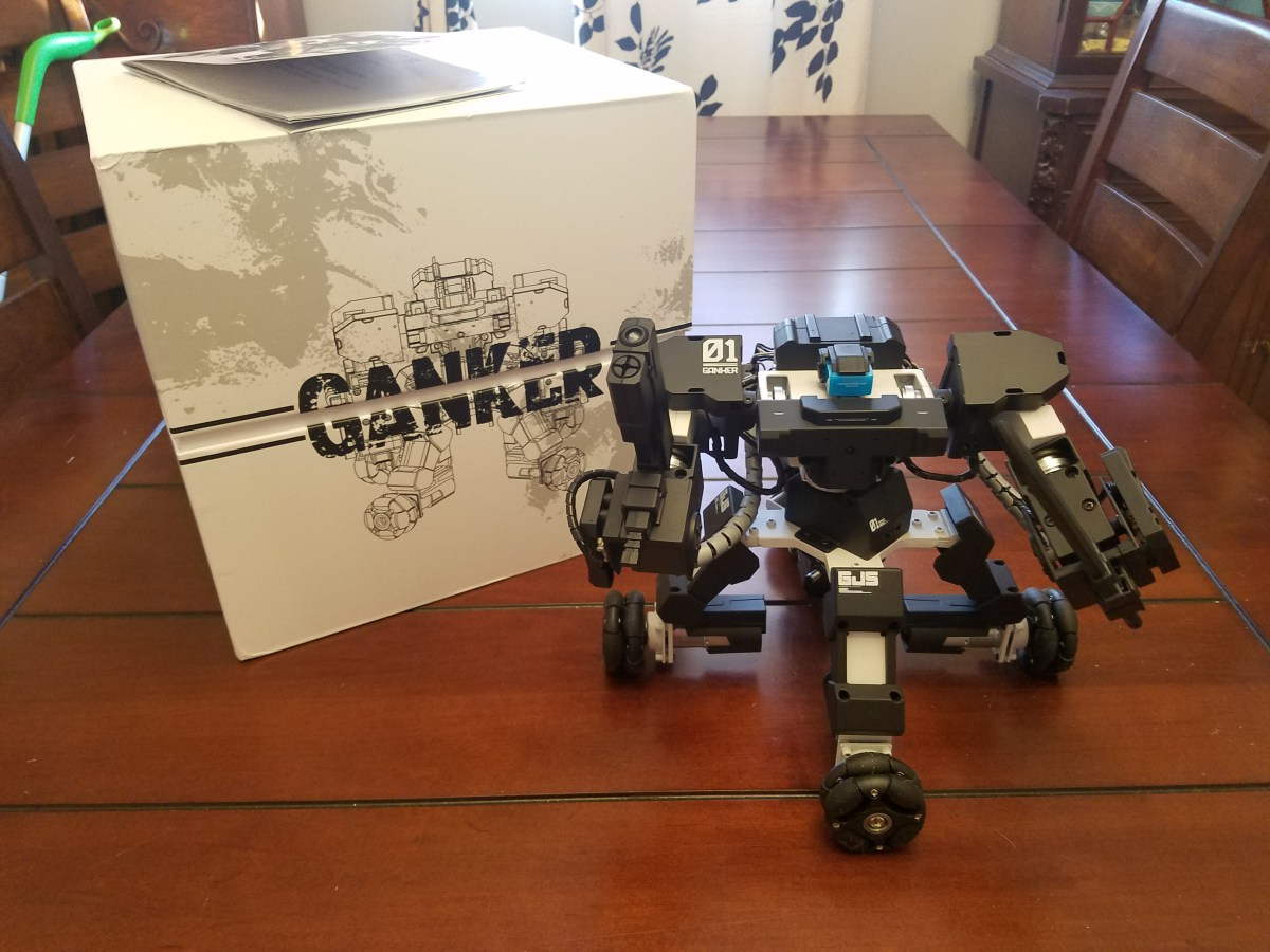 Робот ганкер своими руками 52