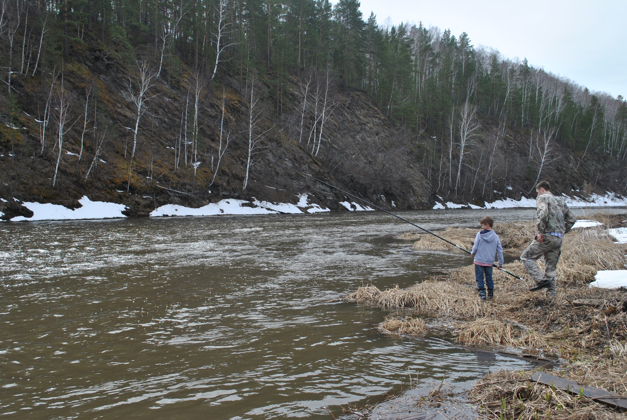 схема поплавочной снасти для средней дальности