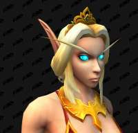 New Blood Elf Female Character Customizations - Necklaces, [...]