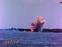 RARE WWII Kamikaze footage. IN COLOR..mp4